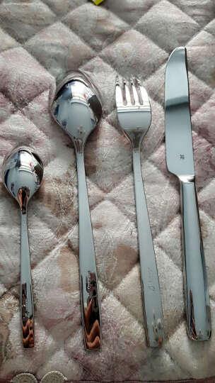 福腾宝(WMF) 德国WMF福腾堡Profi西餐具套装4件套 牛排刀叉勺 汤勺甜品勺 12.8070.9000儿童版餐具 小熊浮雕 晒单图