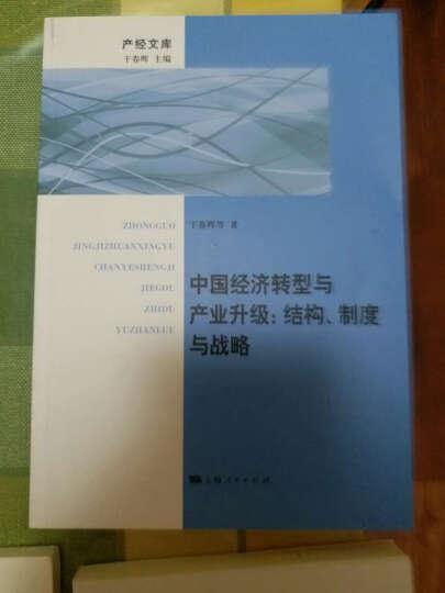 中国经济转型与产业升级:结构、制度与战略 晒单图