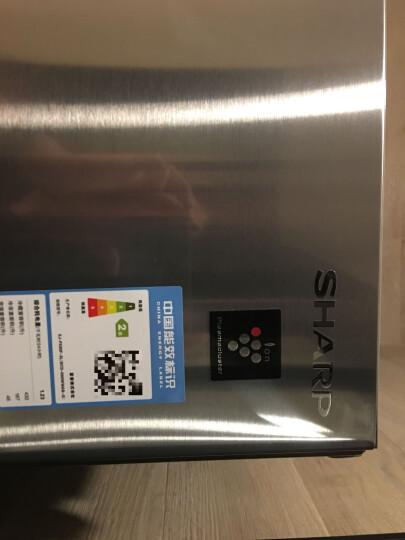 夏普(SHARP)667升 原装进口十字对开冰箱 冷变频无霜 零度冰镇 宽幅变温室 自动制冰 SJ-PX80F-SL 晒单图