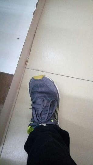 回力男鞋帆布鞋网面布鞋透气运动休闲鞋轻便一脚套鞋懒人蹬男鞋子 灰色 38 晒单图