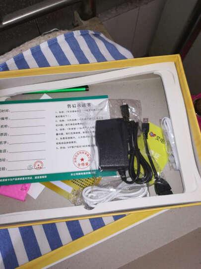 艾电尼 A101 平板电脑八核10.1英寸IPS高清屏安卓4G通话手机二合一 土豪金(32G) 官方标配+键盘+皮套 晒单图