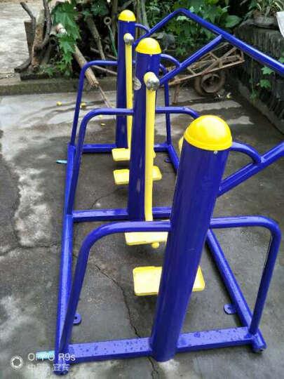 公园小区户外健身器材路径室外体育器材单位双人三人漫步机 立柱双人漫步机 晒单图