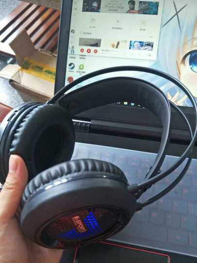 狼途(LANGTU) 真机械手感键盘鼠标耳机套装台式笔记本电脑有线游戏键鼠吃鸡外设 白银冷白光+宏鼠标+发光游戏耳机 晒单图