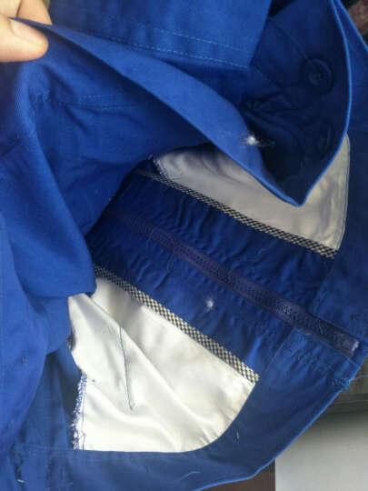 雷萨狼 春秋季长袖工作服套装男劳保服 汽修服物流工衣机修维修工服机械 藏蓝套装 170/L 晒单图