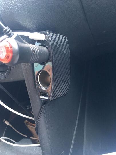 SEIWA 日本车载充电器点烟器USB 汽车车载电源点烟器一拖三 双USB正反可插-有线款F266 晒单图