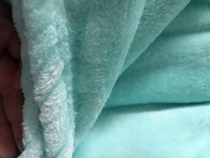 唯诗雅 双层拉舍尔毛毯 秋冬加厚毛毯单双人保暖办公室午睡毯 玫瑰满园 2.0*2.3m(约8斤) 晒单图