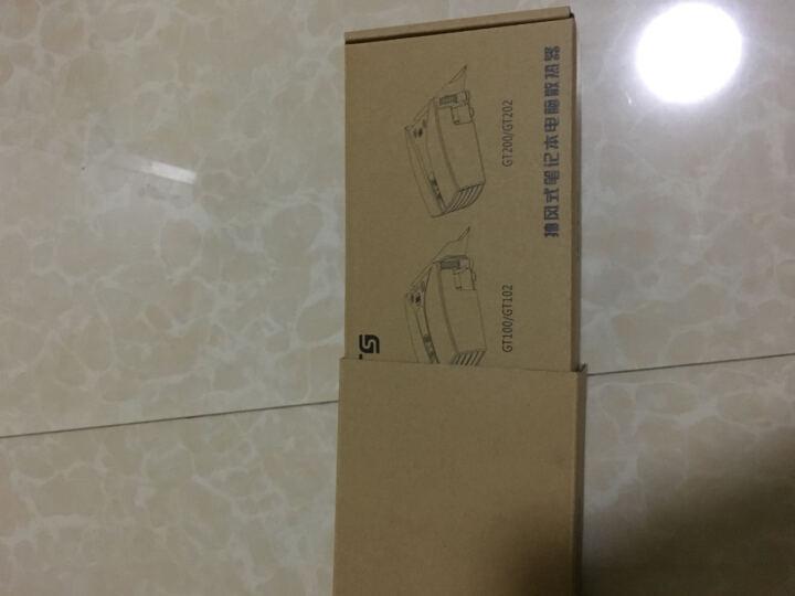 ETS五代 笔记本抽风式散热器 后吸风式侧吸风冷散热器手提电脑排风扇抽风机适用14英寸15.6 17 强力双电源供电版黑色 晒单图