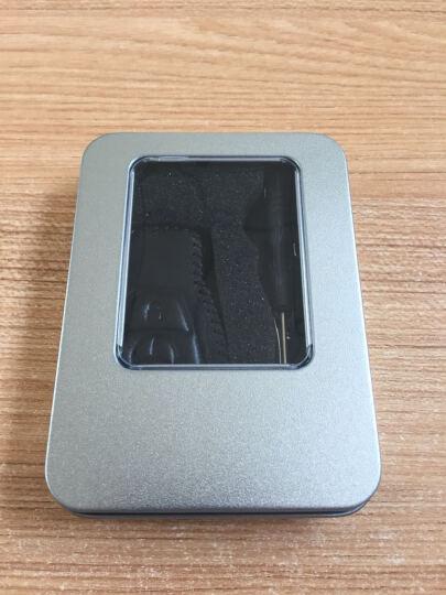 逸卡 奔驰C200L车钥匙包GLC260真皮GLK套C180L钥匙扣C/S级CLA20 红黑三键全包 晒单图