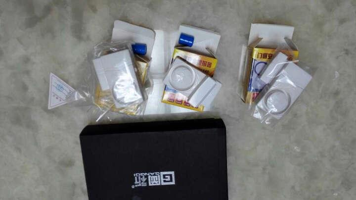 岡祈(Gangqi)GQ-XMC3 多功能家用商用门磁报警器 高音超响门窗防盗报警器门铃关门提醒器 新款门磁报警器 晒单图