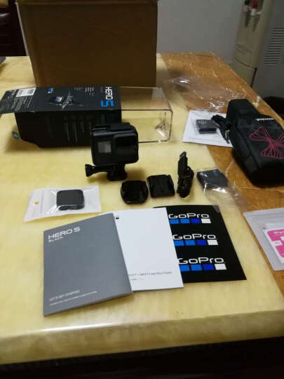 GoPro HERO7/6/5 新款4K60帧运动相机 高清水下潜水摄像机 GoPro5运动相机 标配 晒单图