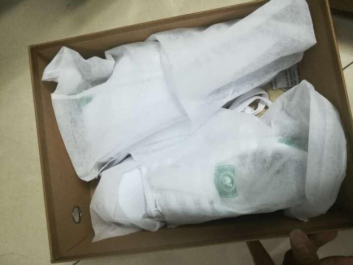 骆驼牌 舒适流行小白鞋板鞋时尚简约系带休闲鞋男 W712360080 白/绿 男款 42/260码 晒单图