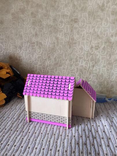 馨联3D实木立体拼图中国世界古建筑彩色木质DIY木制拼图仿真模型儿童积木拼装玩具节日生日礼物 辽宁号航空母舰 晒单图