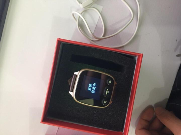 【心率+血压检测】keke老人智能手表男女心率血压电话腕表儿童智能防丢器手机GPS定位手环 老人表-香槟金(双向通话+心率血压监测+多重定位) 晒单图