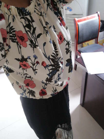 璀莉2017秋冬季新款韩版女装时尚针织衫毛衣格子套装裙女包臀显瘦假两件套长袖毛呢打底连衣裙 红色 L 晒单图