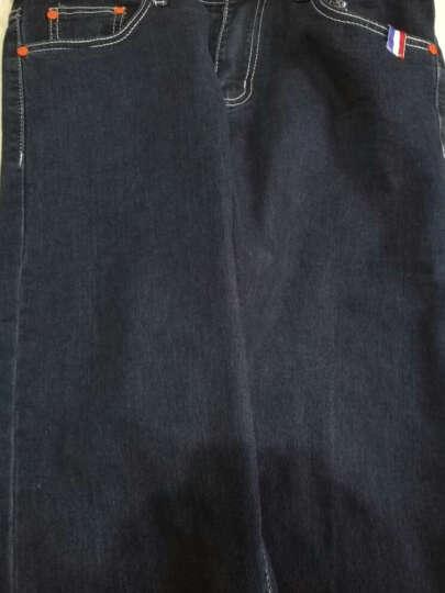 诺雷·登 牛仔裤男 修身直筒小脚裤 韩版9分裤 男装牛仔裤 春夏新品 A105-175-浅蓝色 31 晒单图