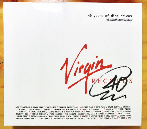 维珍唱片 40周年精选(3CD) 晒单图