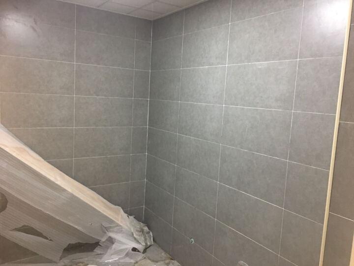 圣亚高瓷砖 卫生间厨房瓷砖地板砖 文化石仿古砖 厨卫墙砖 浅灰 300*300/片 晒单图