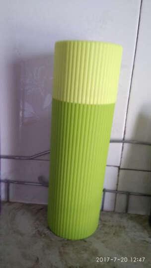 加加林 牙刷杯牙具盒洗漱杯旅行出差便携牙膏牙刷收纳盒 刷牙杯漱口杯 大号绿色 晒单图