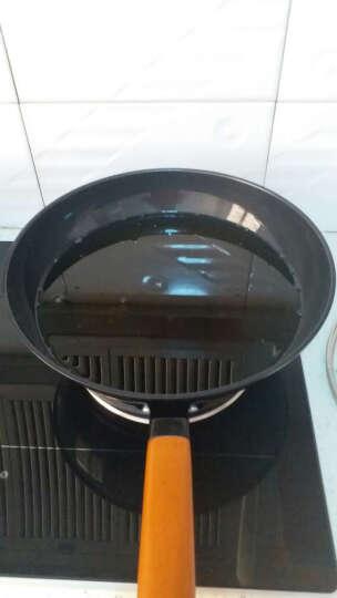 WOMI沃米铸铁炒锅真不锈 无涂层炒菜锅 锅具电磁炉通用炒锅32cm WM-K1010 32cm 晒单图