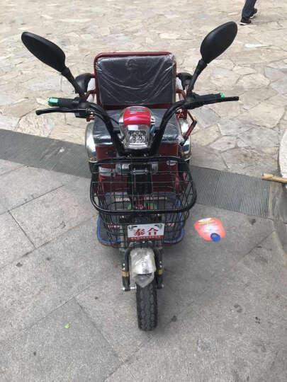 泰合 老年人电动三轮车老人电动代步车老年代步车三轮电动车 TH106-6差速电机 48v20按锂电池(寿命4年左右) 晒单图