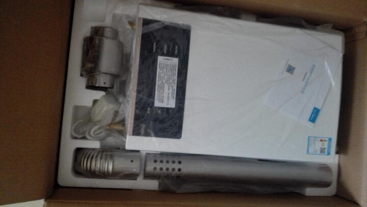 美的(Midea) 12升 水气双调智能恒温 燃气热水器(天然气)JSQ22-G5(T) 晒单图
