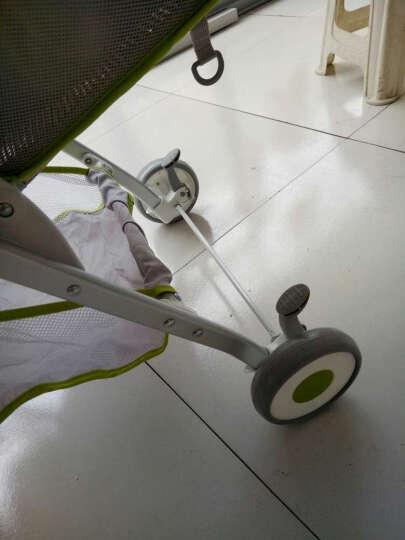 鑫贝婴儿推车超轻便可坐可躺婴儿伞车便携式夏季旅游透气四轮避震宝宝手推车 自带餐盘 红色 晒单图