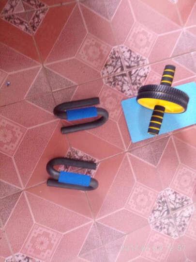 华亚 健身训练套装组合 家用锻炼器材 40kg级臂力器+两用拉力器+跳绳+H型俯卧撑架 晒单图