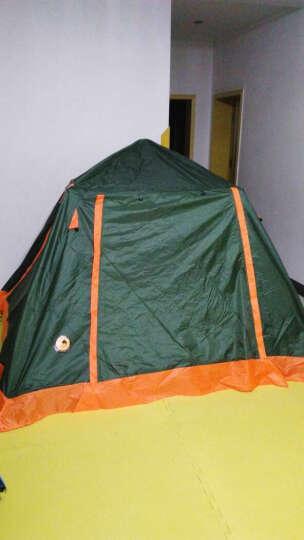 北极狼(BeiJiLang) 户外3-4户外帐篷套装多人双层野营公园全自动露营大帐篷 公园休闲套餐 晒单图