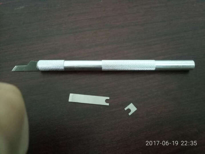 剪纸工具美工刀橡皮章雕刻刀手机贴膜割网刀刻纸剪纸工具 16号刀片一盒 晒单图