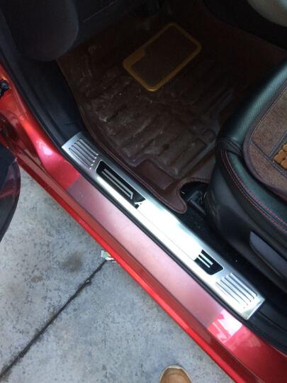 纳斯顿 2017款昂克赛拉门槛条专用于马自达3不锈钢昂克赛拉改装迎宾踏板 内置(不锈钢红标款) 晒单图