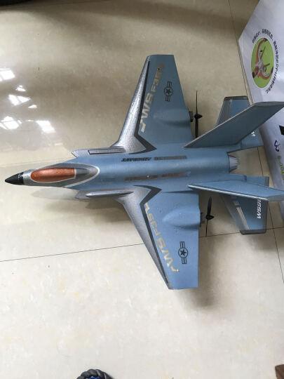 遥控航模飞机固定翼无人战斗机大航拍滑翔机儿童玩具飞行器模型csq 红色 F-357 晒单图