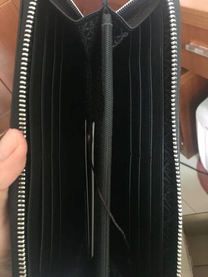夏利豪 CHARRIOL男士手拿包牛皮钱包横款手抓包 CF623-3181 晒单图