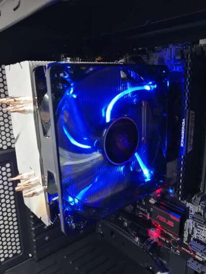 超频三(PCCOOLER)皓月 12CM绿光 机箱风扇 (水冷排散热/电脑电源风扇/CPU风扇/减震静音/赠4颗螺丝) 晒单图
