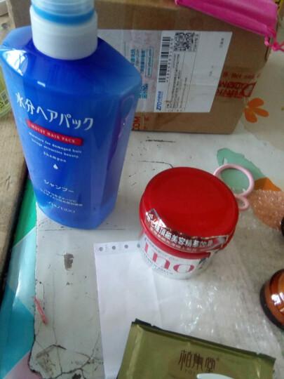资生堂(Shiseido) 日本洗护 水之密语洗发水7173瞬间柔顺免洗喷雾8383 晒单图