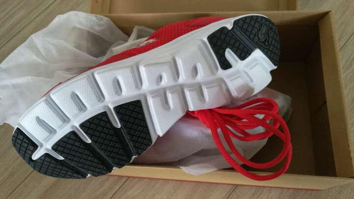骆驼(CAMEL)运动鞋男女情侣款休闲透气跑步鞋慢跑鞋A712357085钢铁红41 晒单图