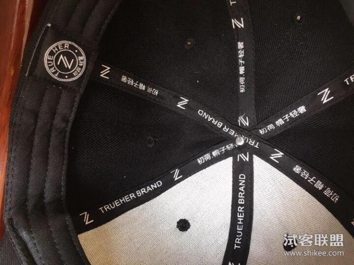初荷 棒球帽子男女士鸭舌帽韩版潮夏季休闲遮阳帽户外运动嘻哈帽 经典款(棉)-黑色 晒单图