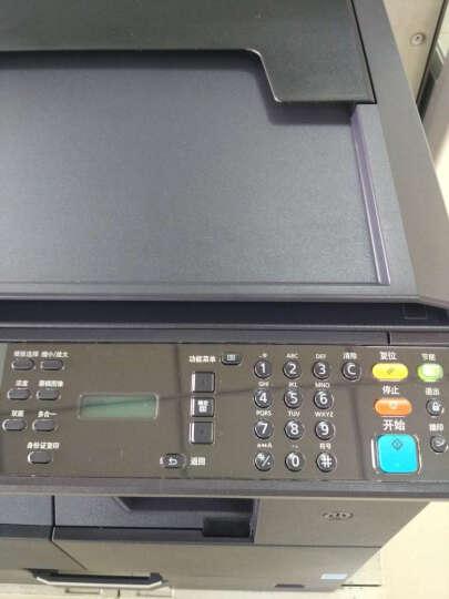 京瓷1800升级2010A3复合机(KYOCERA)A3A4黑白激光打印复印扫描一体复印机 (标配+网络打印)+双面器+双层纸盒+传真 晒单图