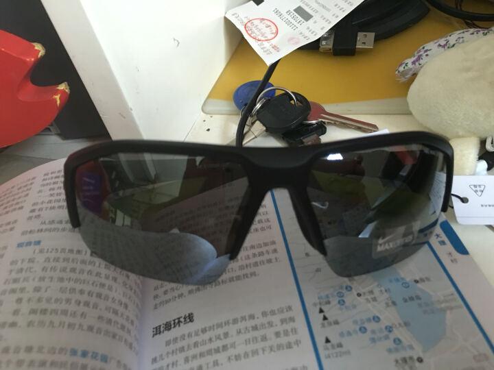 NIKE 耐克 男款黑色镜框灰色镜片眼镜太阳镜   EV0894 007  62mm 晒单图