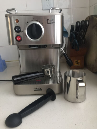 灿坤(EUPA)19BAR意式咖啡机家用商用全半自动蒸汽式煮咖啡壶 TSK-1819A 晒单图