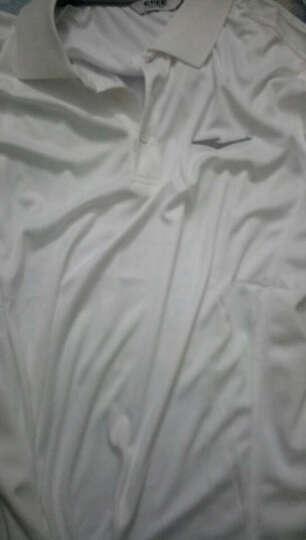 鸿星尔克短袖T恤2020夏季圆领男士运动服透气速干吸汗男装上衣 大红9164 L 晒单图