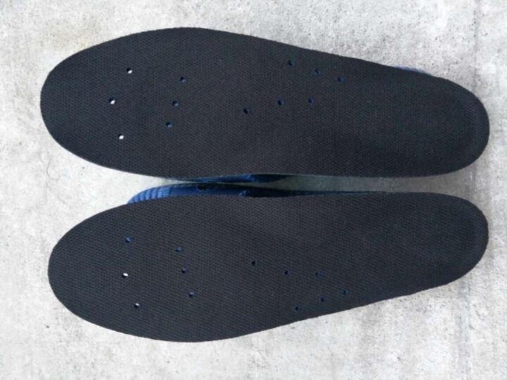 路添彩 运动鞋垫 军训鞋垫 硅胶减震柔软透气吸汗男女士舒适跑步篮球减震皮鞋增高鞋垫 舒适减震35-40码 晒单图