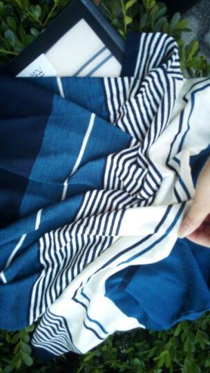 花花公子贵宾 短袖t恤男 撞色翻领商务休闲2017新款 17663/深蓝 M-105 晒单图