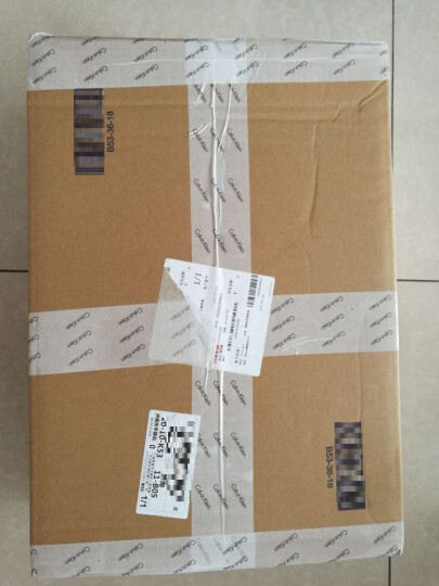 CK JEANS/  男士手提包 HH1182 489-黑色 晒单图