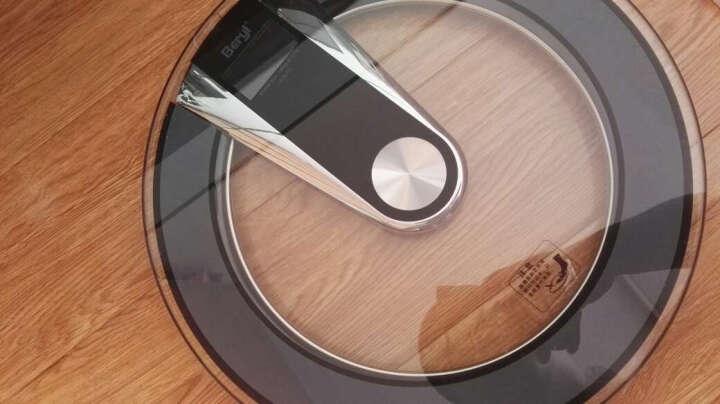 贝雅(Beryl)语音电子秤家用体重秤人体秤健康秤减肥秤大屏高端质感钢化玻璃BY828 无语音浅灰色 晒单图