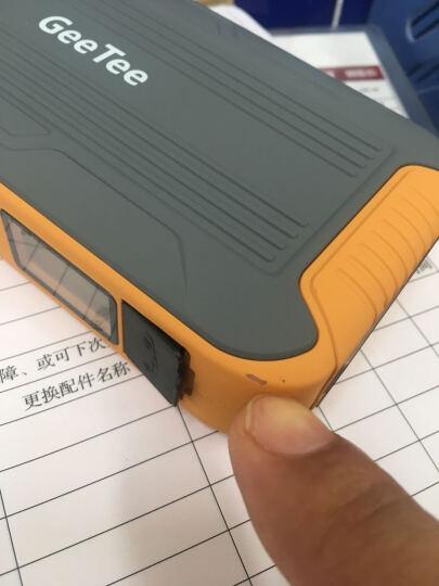 极体(GeeTee)汽车应急启动电源  电池电瓶启动宝电瓶笔记本手机移动电源 橙黄色A6 晒单图