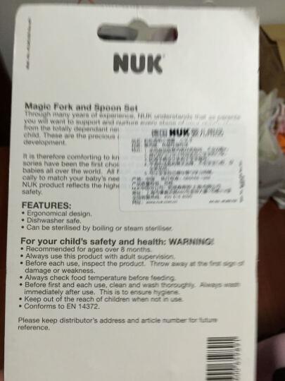 【德国品质】NUK彩色透明小叉子 颜色随机 晒单图
