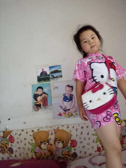 北狐 幼儿园背包卡通猫咪儿童单肩包 时尚少女儿童亲子背包 Kitty猫斜挎包 白色 晒单图