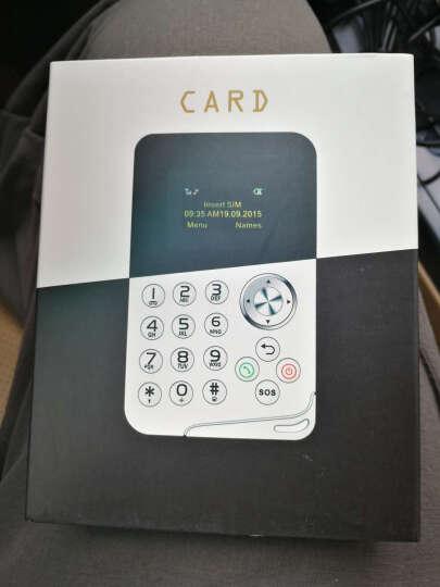 Zenus 卡片手机超薄按键迷你手机超小 儿童男女学生款袖珍反智能卡片机手机 粉色M8 晒单图