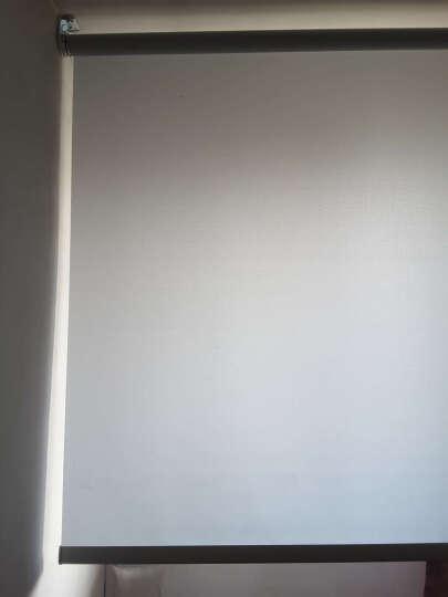 CR9电动卷帘窗帘智能遥控遮光遮阳升降 办公室酒店卫生间防水定制 单通道墙面开关WS-QK01-0005 晒单图