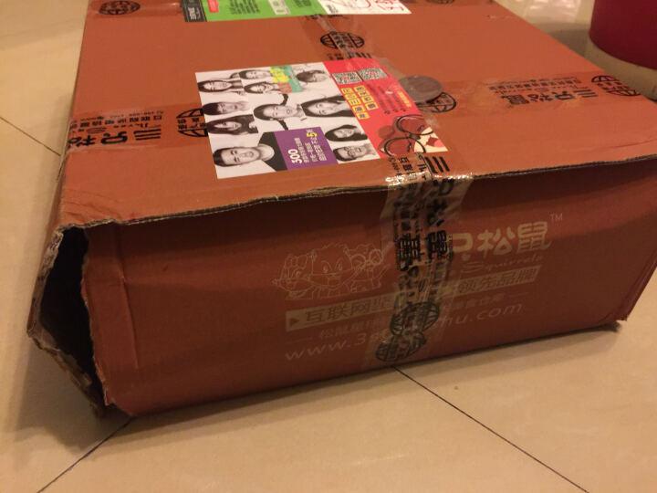 新品三只松鼠_巨型粽子零食大礼包1288g/10袋 端午节礼品礼盒 蒜香味 晒单图